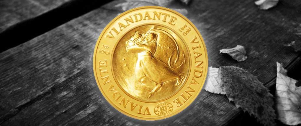 IL VIANDANTE Goldunze 999.9